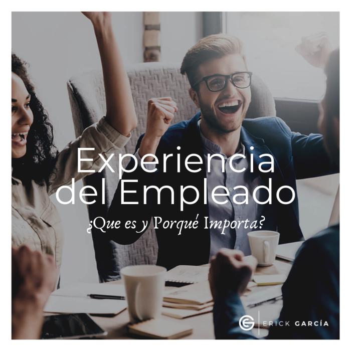 ¿Que es la Experiencia del Empleado y Porqué es tan Importante?