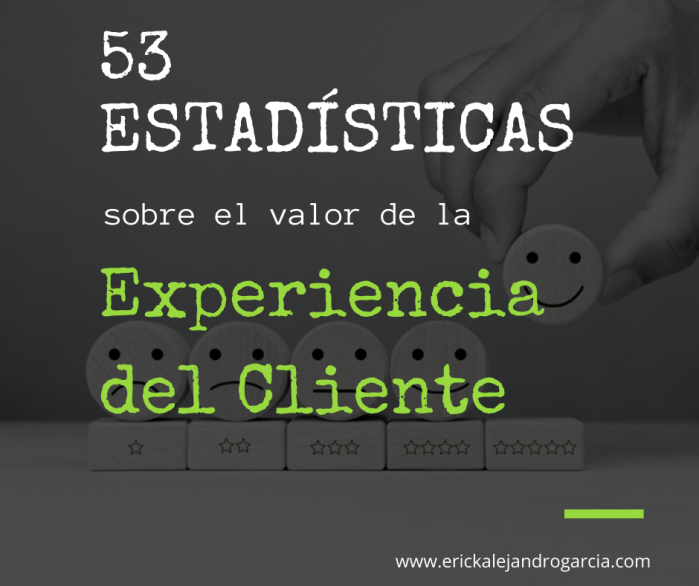 53 estadísticas sobre Customer Experience