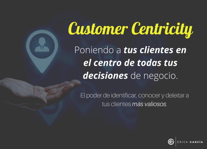 Centricidad en el Cliente
